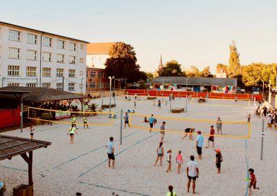 Beachvolleyballfelder Citybeach Dresden